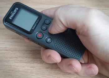 Philips Voice Tracer DVT1110 - Funzionamento