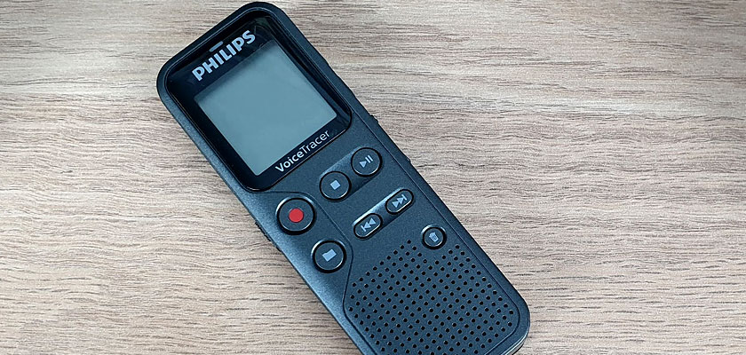 Philips Voice Tracer DVT1110 - Keyvisual