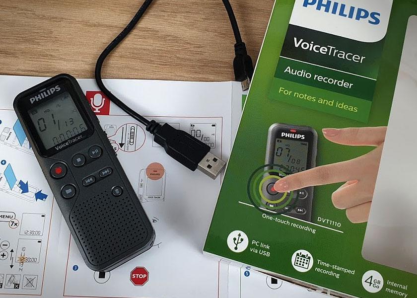 Philips Voice Tracer DVT1110 - Dotazione Apro la confezione e trovo
