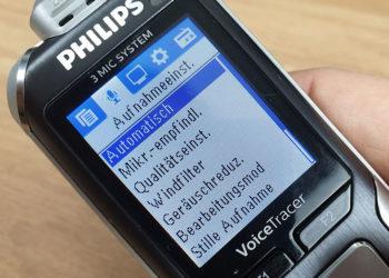 Philips Voice Tracer 6010 - Impostazioni
