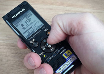 Diktiergerät Olympus WS853 - Bedienung